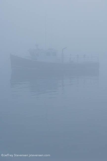 Heavy Fog, Evening, Port Clyde, Maine